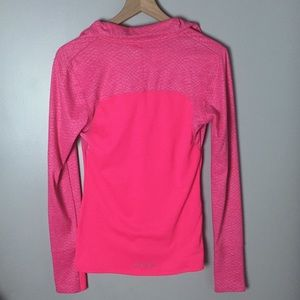 Under Armour Tops - Under Armour Pink Fitted Quarter Zip Coldgear Sz M